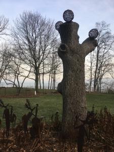 Tree Trunk Sculpture